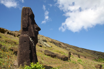 Easter Island statue