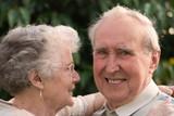 Loving Retired Couple poster