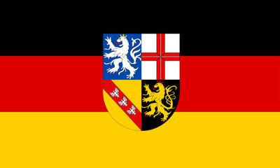saarland fahne flag