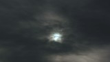 Spooky Sky with Cloud Overcast Close-up poster