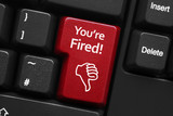 """You're fired!"" key on keyboard"