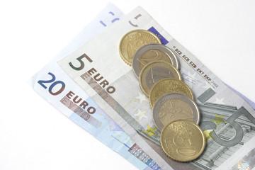Monete e banconote euro