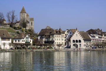 Stadt Rapperswil in der Schweiz