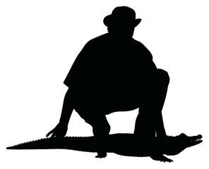 domador de cocodrilos