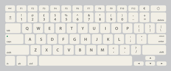 Vector Keyboard