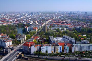 West-Berlin von oben