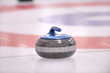 Winter Sport-Curling, the granite Rock
