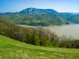 Djerdap National Park and the river Danube poster