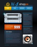 Hi-Fi Shop Brochure poster