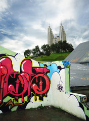 Akureyri and graffiti