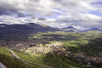 Paesaggio, cassino, italia