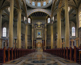 The Sanctuary of Our Lady of Lichen - inside. poster