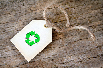 Recycle Gift Tag