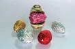 Porcelain claim for Easter egg together chocolate eggs