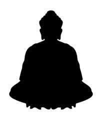 Bouddha en position du Lotus