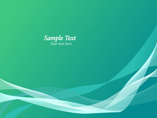 abstract blue and green vector background