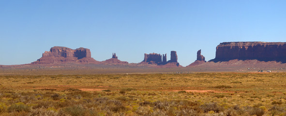 Panorama Monument Valley #2