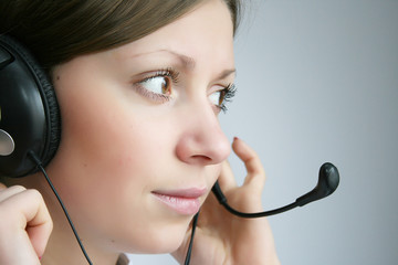 business customer services agent