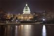 US Capitol Night Reflections capital city Washington DC