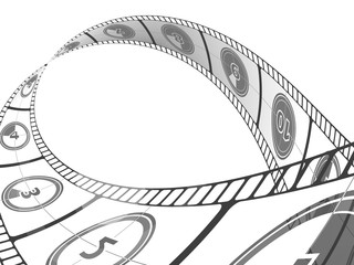 Filmstreifen Reel