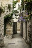 Fototapeta Uliczki - budva old town street, montenegro © TravelPhotography