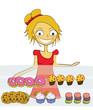 femme boulangerie