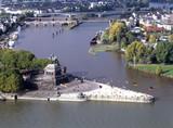 Fototapety Deutsches Eck Koblenz