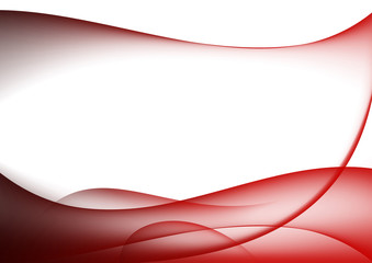 abstract background red curves