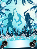 Foam-party poster