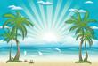 Fototapete Stranden - Sommer - Insel