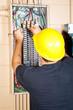 Electrician Replaces Breaker