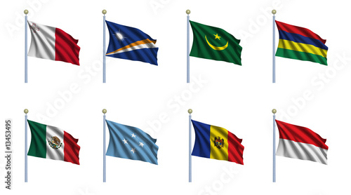 World Flag Set 15