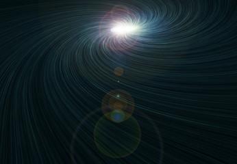 Supernova Star in Space