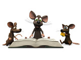 Mice storytime poster