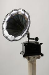 Grammofono con 78 giri