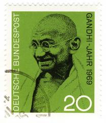 postage stamp Mahatma Gandhi