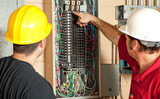 Electricians Replace 20 Amp Breaker poster