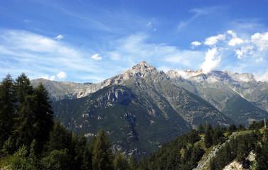 Paesaggio di montanga