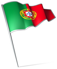 Flag pin - Portugal