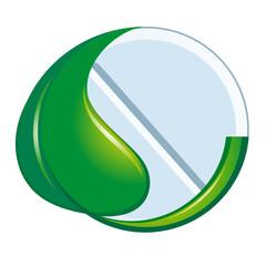 Symbol of natural medicine