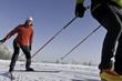 dynamisch skaten im Winter