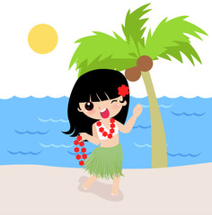 hawaii girl