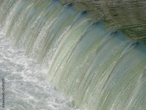 canvas print picture Ecoulement d'eau