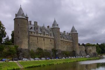 Chateau de Josselin sul fiume Oust