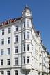 Wohnhaus, Mietshäuser, Hausfassaden, Deutschland, Kiel