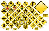 Registrujte se silniční Set # 3 - Varování