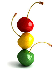 cherry traffic light