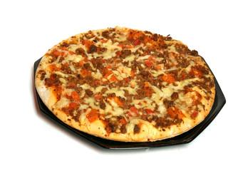appétissante pizza bolognaise