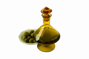 oil and olives