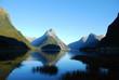 Morgen am Milford Sound
